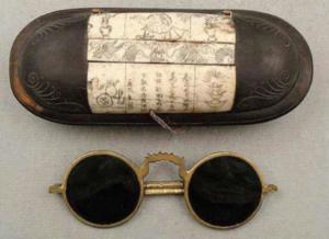 smoky quartz glasses history of sunglasses