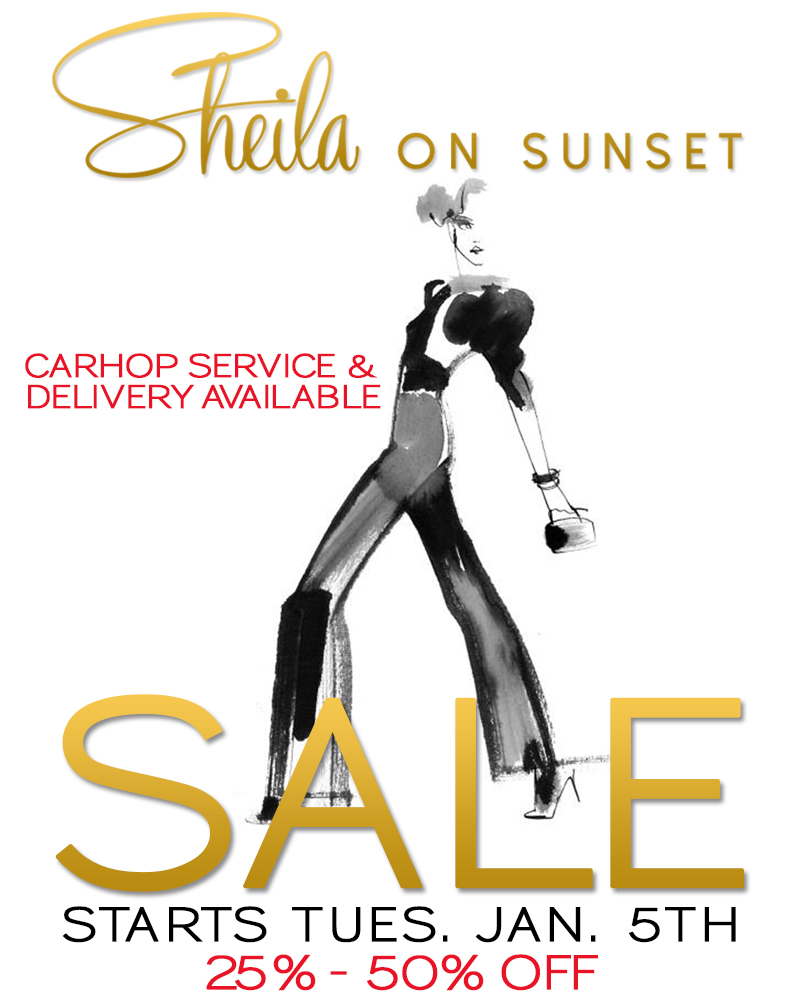 Sheila on Sunset (Sale 25%-50%)