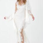 Grace Lace Silk Dress