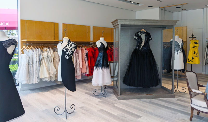 Inside Andrea's Fashions