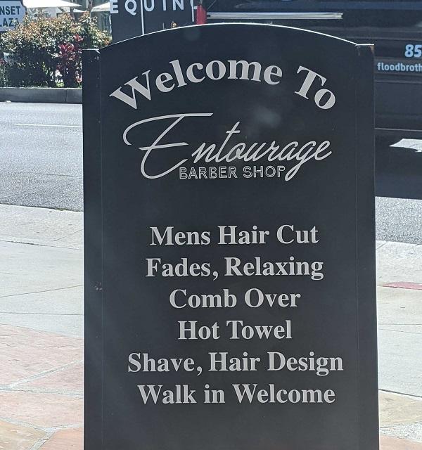 Entourage Barbershop Services